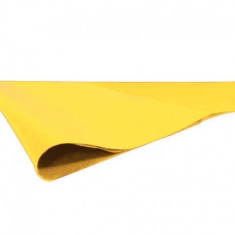 240 feuilles de papier de soie couleur jaune - 7721