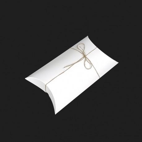 Lot de 25 boîtes berlingot en carton blanc 18x33x7cm - 7916