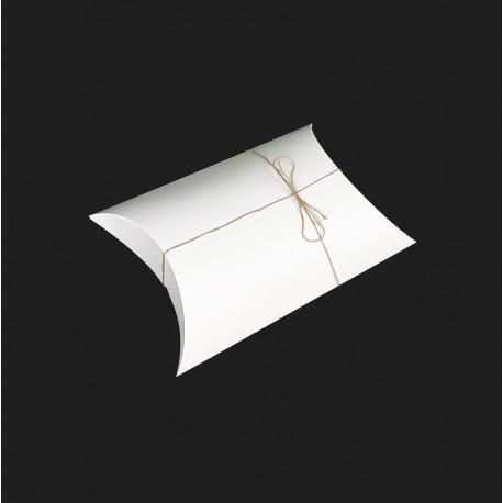 Lot de 25 grandes boîtes berlingot carton blanc 30x45x12cm - 7917