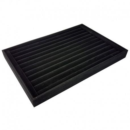5 baguiers en velours noir - 3308x5