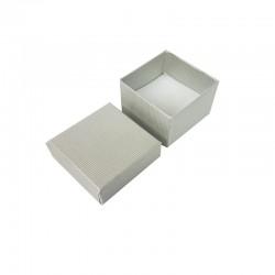 24 petits écrins pour bagues de couleur gris clair - 10141