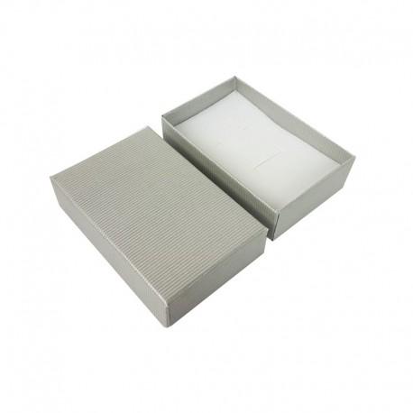 24 écrins pour parure de couleur gris clair - 10142