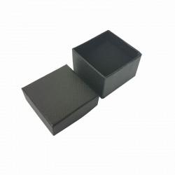 24 petits écrins noirs pour bagues - 10143