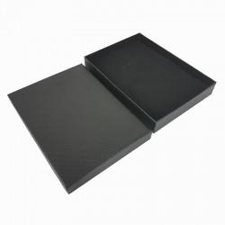 6 grands écrins de couleur noire pour parure 18x13x3cm - 10145