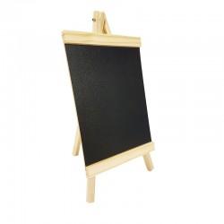 Chevalet ardoise en bois pour affichage prix 20x35cm - 9233