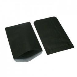 Boîte de 250 grandes pochettes cadeaux kraft noir 21+7x38cm - 8130
