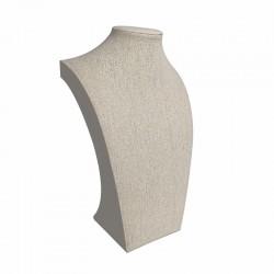 10 bustes rectangulaires en toile de jute 25cm - 9112x10