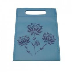 Lot de 100 sacs non-tissés fantaisies bleu ciel 19x24cm - 5006x5