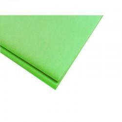 20 feuilles de papier de soie vert anis - 9537