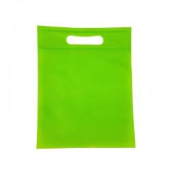 12 sacs non-tissés vert pomme 19x24cm - 9603