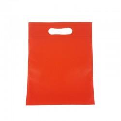 12 petits sacs non-tissés rouge vif 19x24cm - 9608