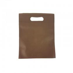 12 minis sacs non-tissés blancs 14x20cm - 9623