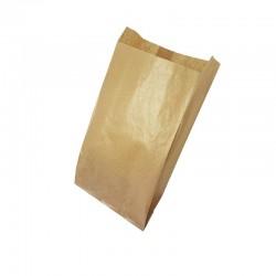 100 pochettes kraft brun 35gr 15+6x27 - 6159