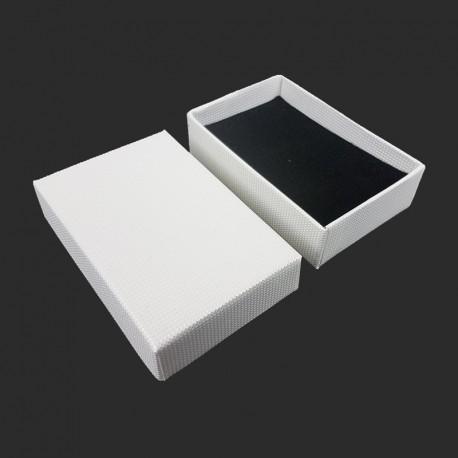 120 écrins à bijoux blanc nacré pour parures - 10170x5