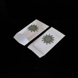 100 petits sachets cadeaux papier 6x10cm motif mandala - 8137