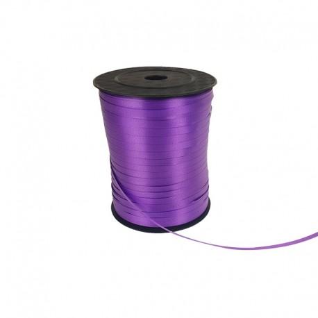 Rouleau de bolduc satiné couleur violette - 9746