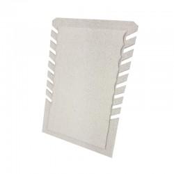 Porte colliers repliable en coton beige naturel - 9987