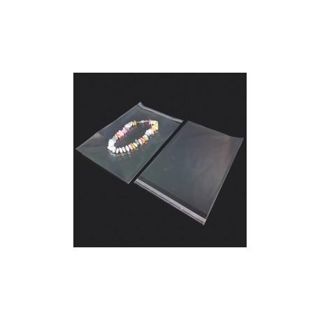 100 pochettes adhésives perforées 15.5x21cm - 7449