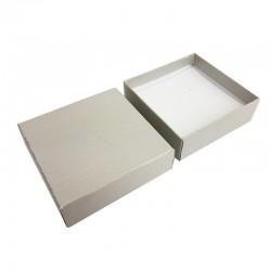 24 écrins à bijoux gris clair pour parures - 10180