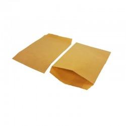 100 pochettes en papier kraft brun naturel 10x15cm - 8194