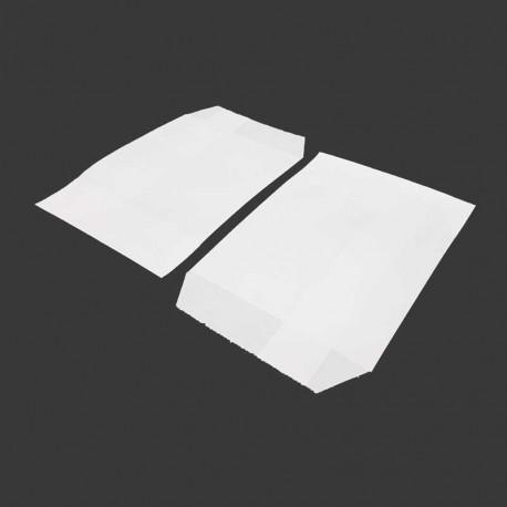 100 pochettes en papier kraft blanc 10x15cm - 8195