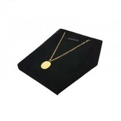 Présentoir pendentif velours noir - 3513