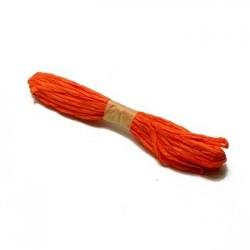 1 pelote crépon orange - 3880